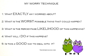 Worry technique TWC